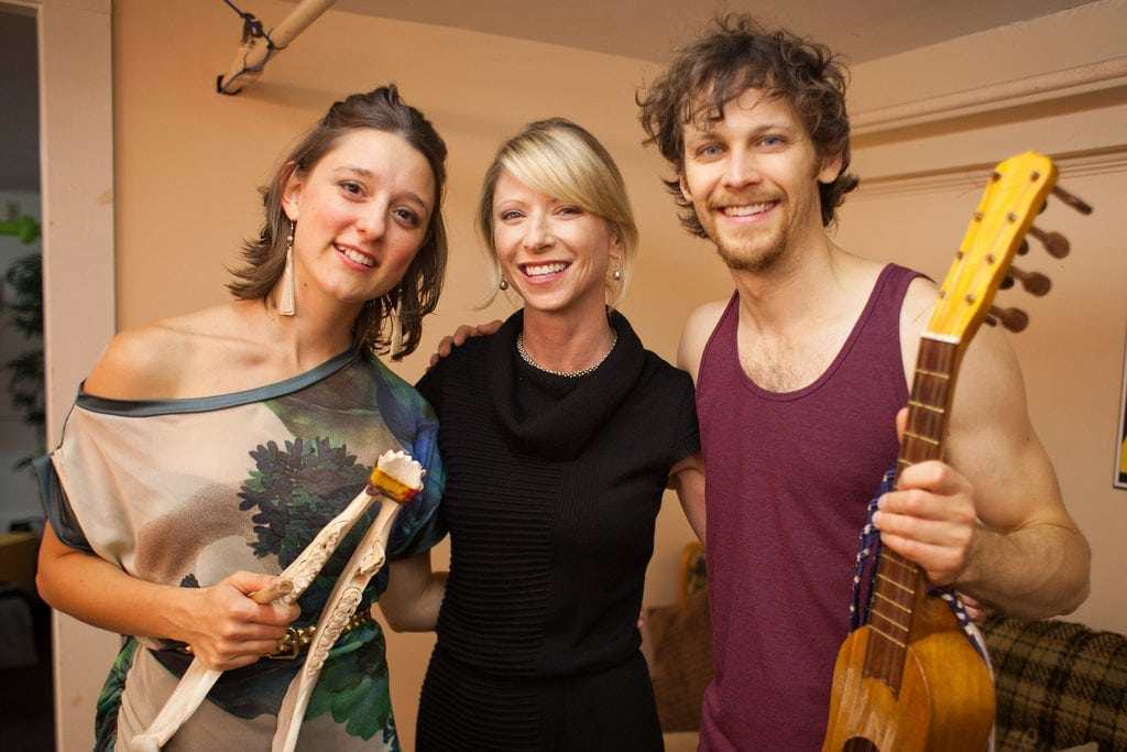 David Wax, Suz Slezak and Amy Cuddy