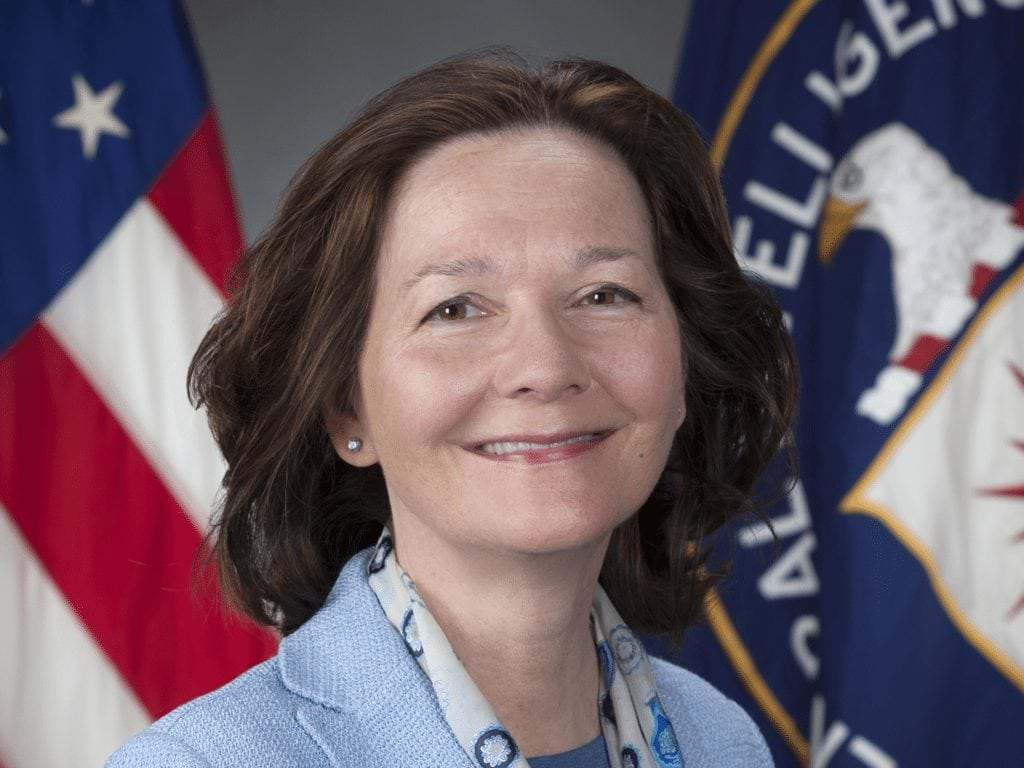Featured image credit: Portrait of Gina Haspel. By Central Intelligence Agency (Central Intelligence Agency) [Public domain], via Wikimedia Commons