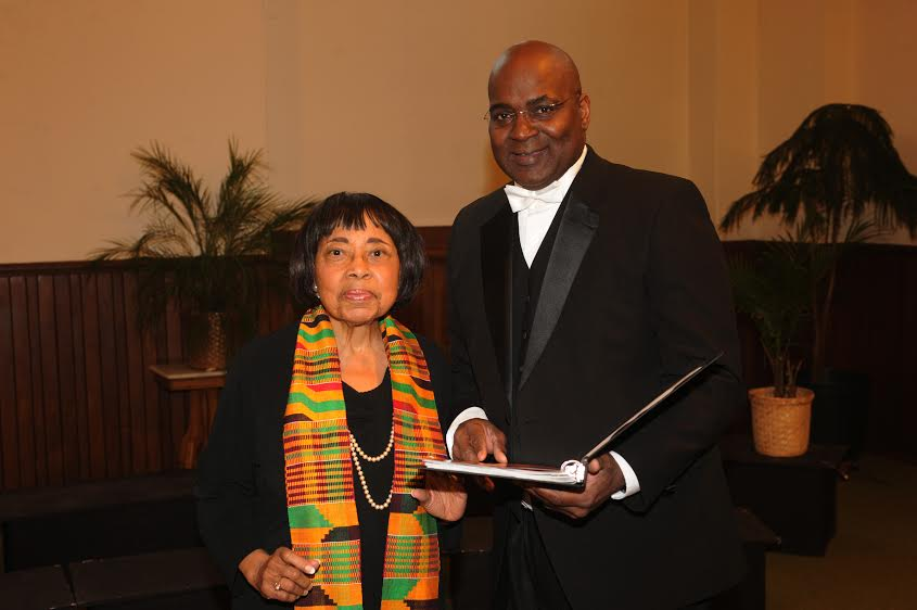 Dorothy Cotton and Dr. Baruch Whitehead (photo provided)