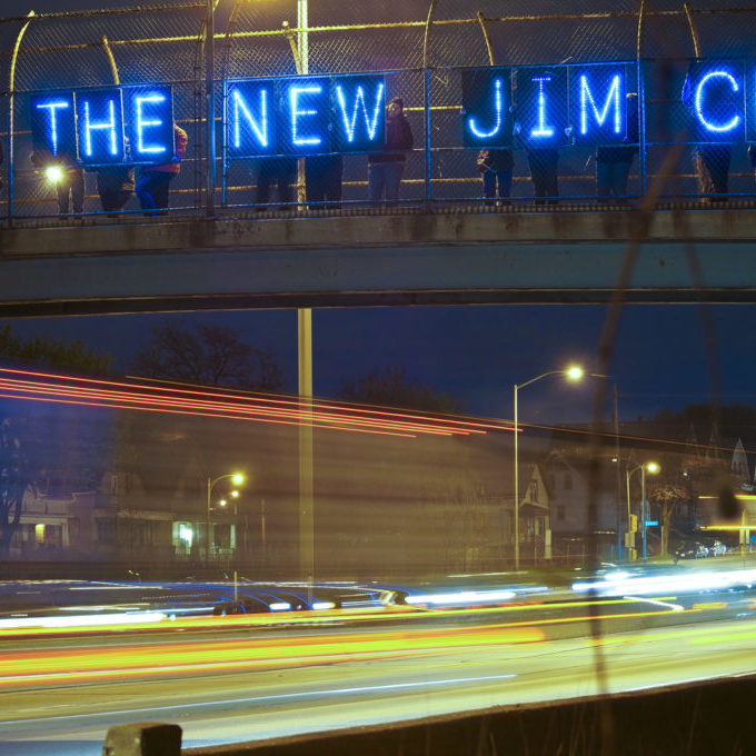 Joe Brusky - Overpass Light Brigade in Milwaukee, Wisconsin, Flickr