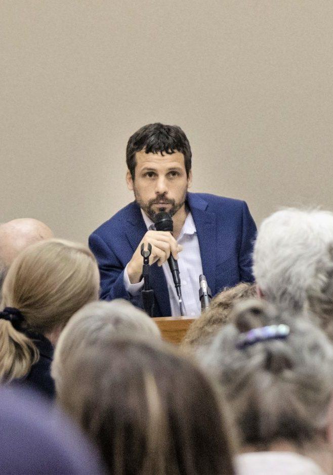 Ian Golden at Debate